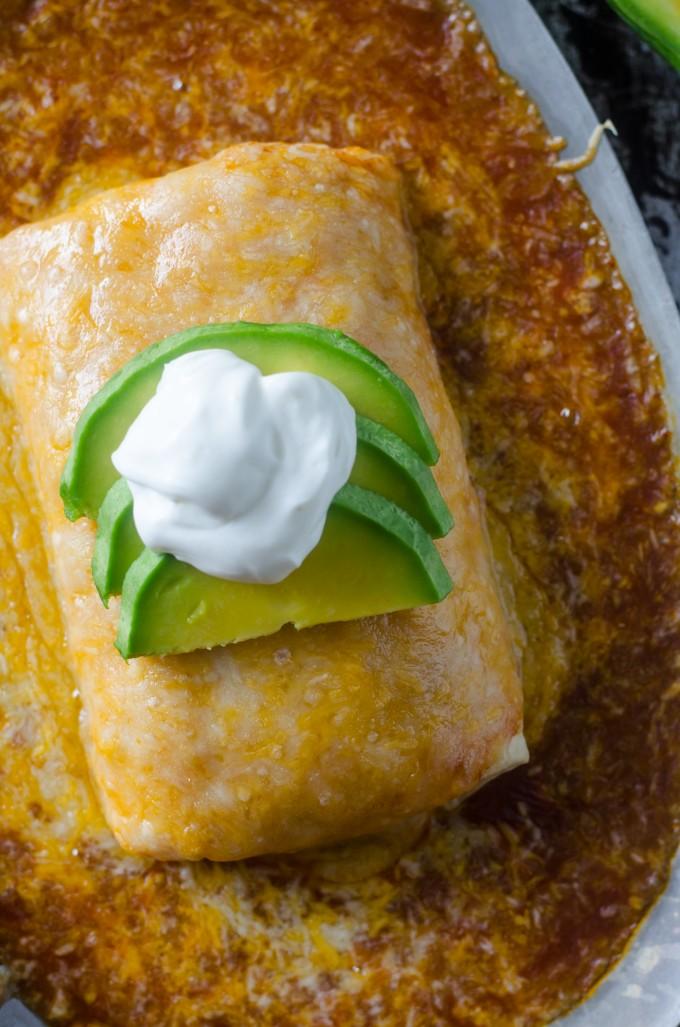 Wet Burritos, Hacienda Style | Go Go Go Gourmet @gogogogourmet
