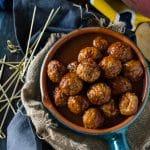Dr Pepper Meatballs   Go Go Go Gourmet @gogogogourmet