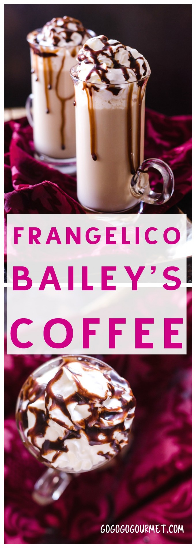 Frangelico Bailey's Coffee via @gogogogourmet