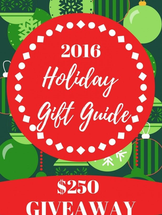 2016 Christmas Gift Guide and CASH GIVEAWAY