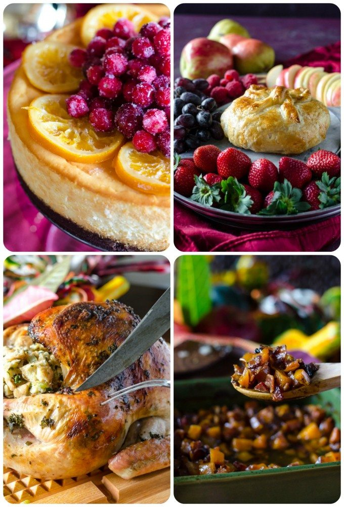 Just a sampling of the amazing recipes you can find in this one-stop-shop for holiday entertaining!