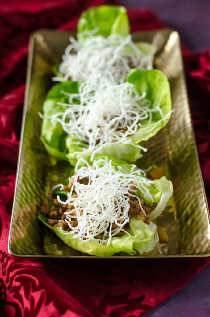 Lettuce Wraps Recipe | @gogogogourmet