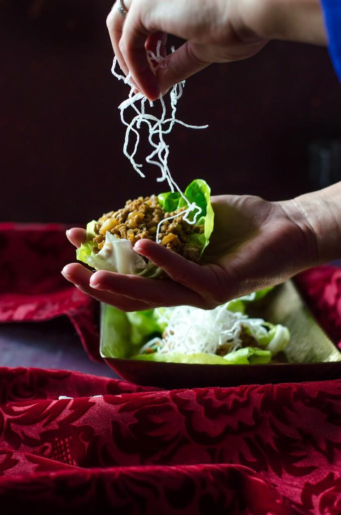 PF Chang's Lettuce Wraps | @gogogogourmet