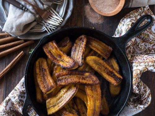 Fried Plantains Go Go Go Gourmet