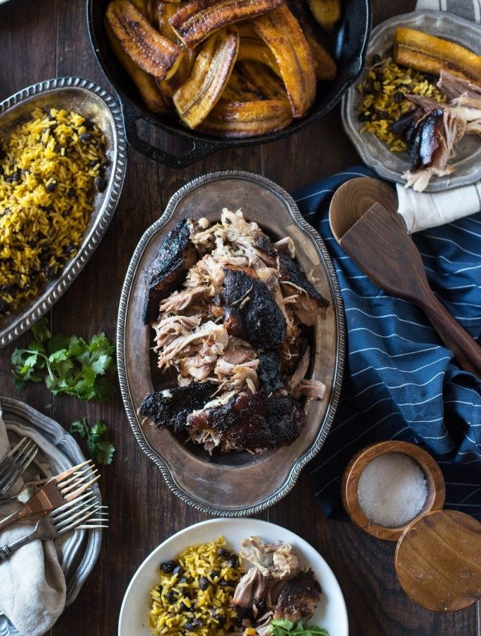 Pernil, Puerto Rican Slow Roasted Pork