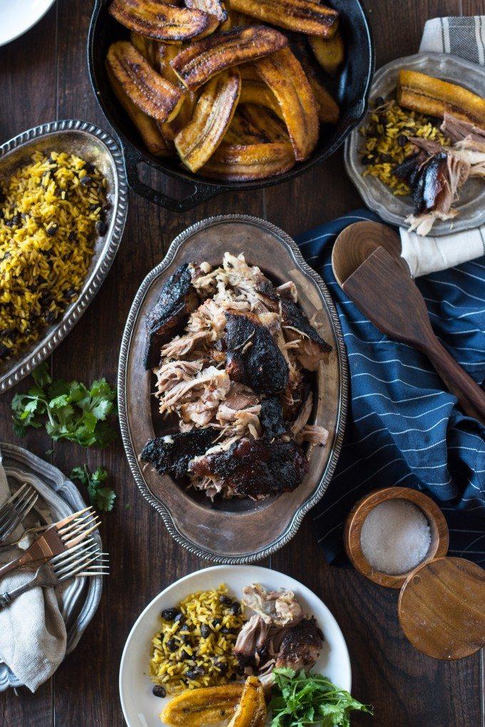 Pernil, Puerto Rican Slow Roasted Pork | @gogogogourmet