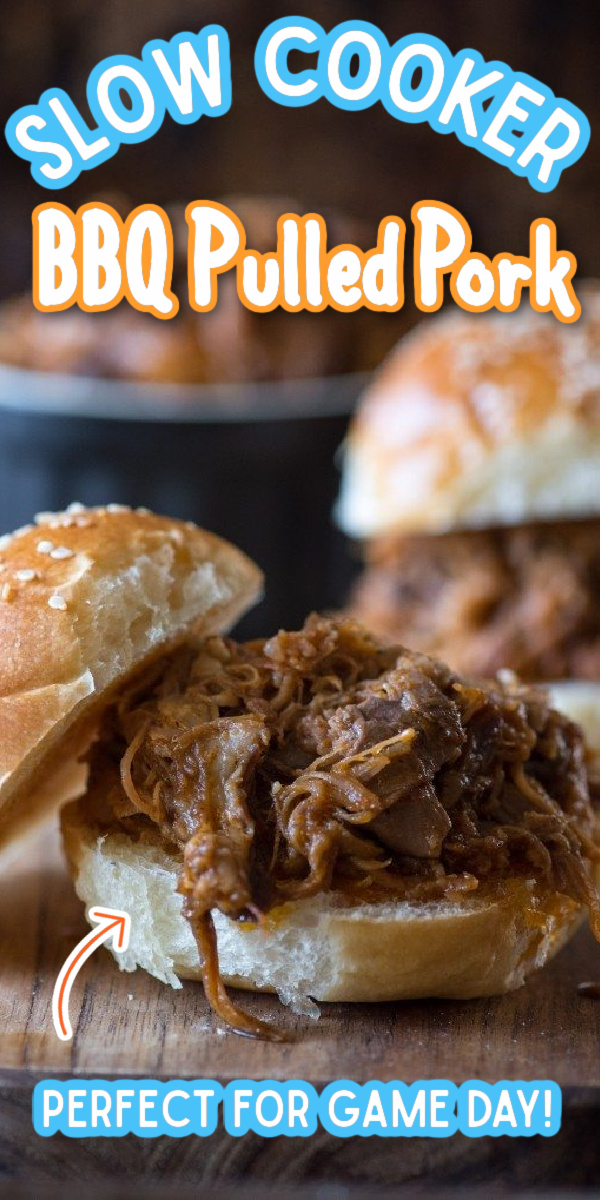 Slow Cooker BBQ Pulled Pork Sliders- a total breeze and amazingly delicious, thanks to my secret sauce ingredient! | via @gogogogourmet