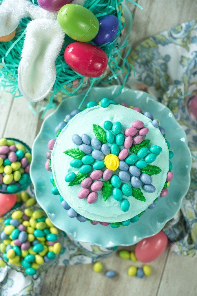 Flower Cake | @gogogogourmet