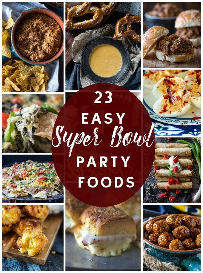 23 Super Bowl Party Food Recipe Ideas