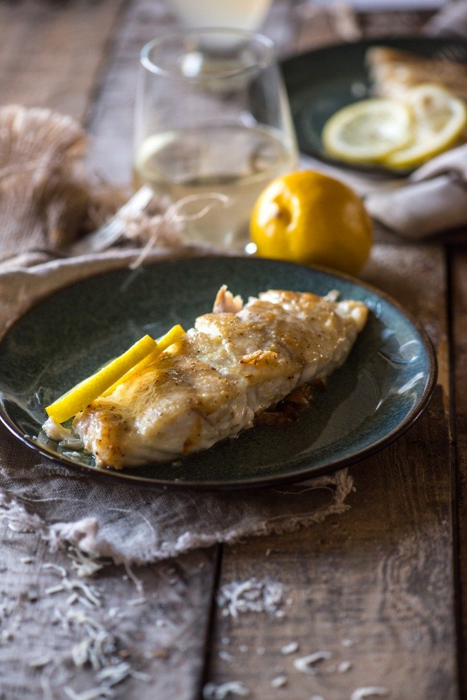 Pan-Seared Grouper- a quick sear on the stove and finished in the oven yields awesomely juicy results! | @gogogogourmet