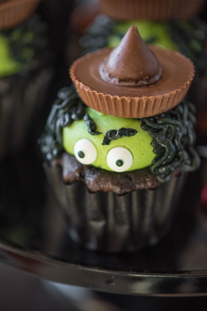 Halloween Witch Cupcakes Go Go Go Gourmet