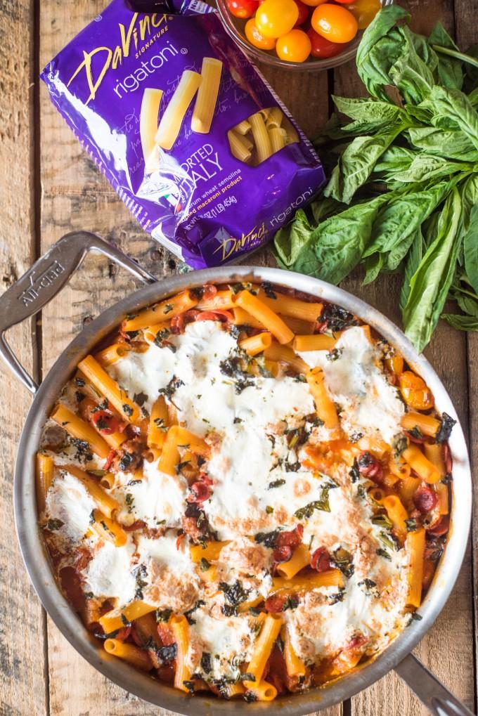 Pizza Casserole Recipe | @gogogogourmet