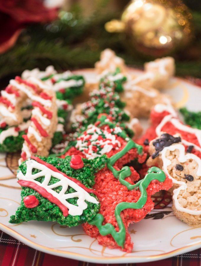 Rice Krispies Treats Christmas Cookie Cutouts