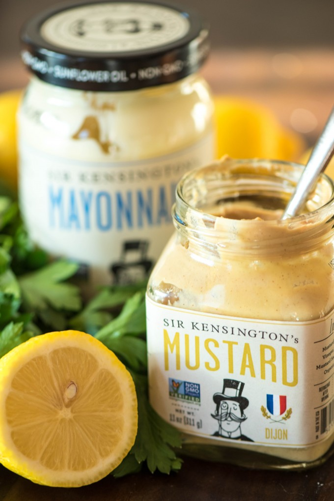 Sir Kensington's dijon mustard and mayonnaise