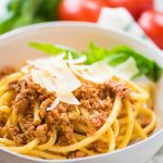 Spaghetti Bolognese done in the slow cooker