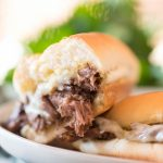 Instant Pot French Dip Sliders