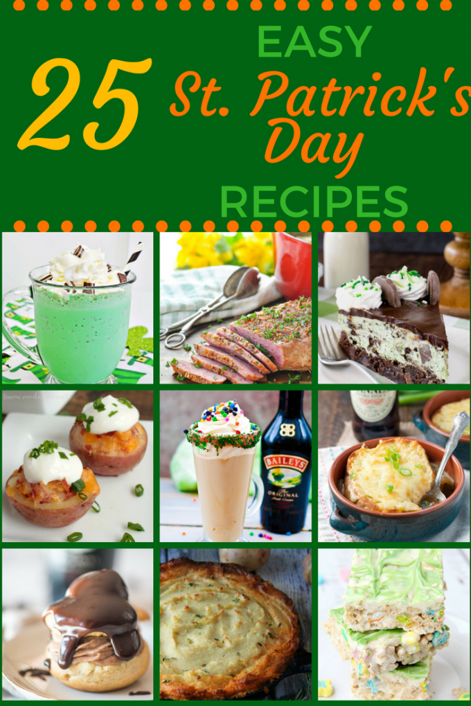 25 easy irish food recipes for st patricks day go go go gourmet ranging from savory to sweet appetizers to cocktails this list has everything you could want plus more there are traditional irish food recipes forumfinder Images
