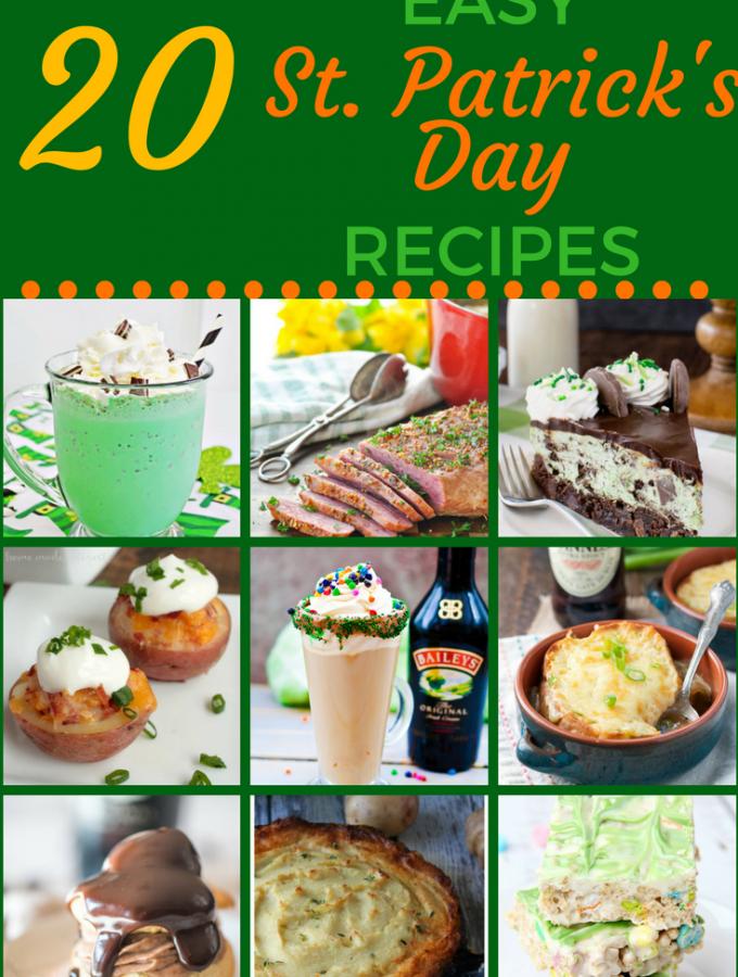 25 Easy Irish Food Recipes for St. Patrick's Day