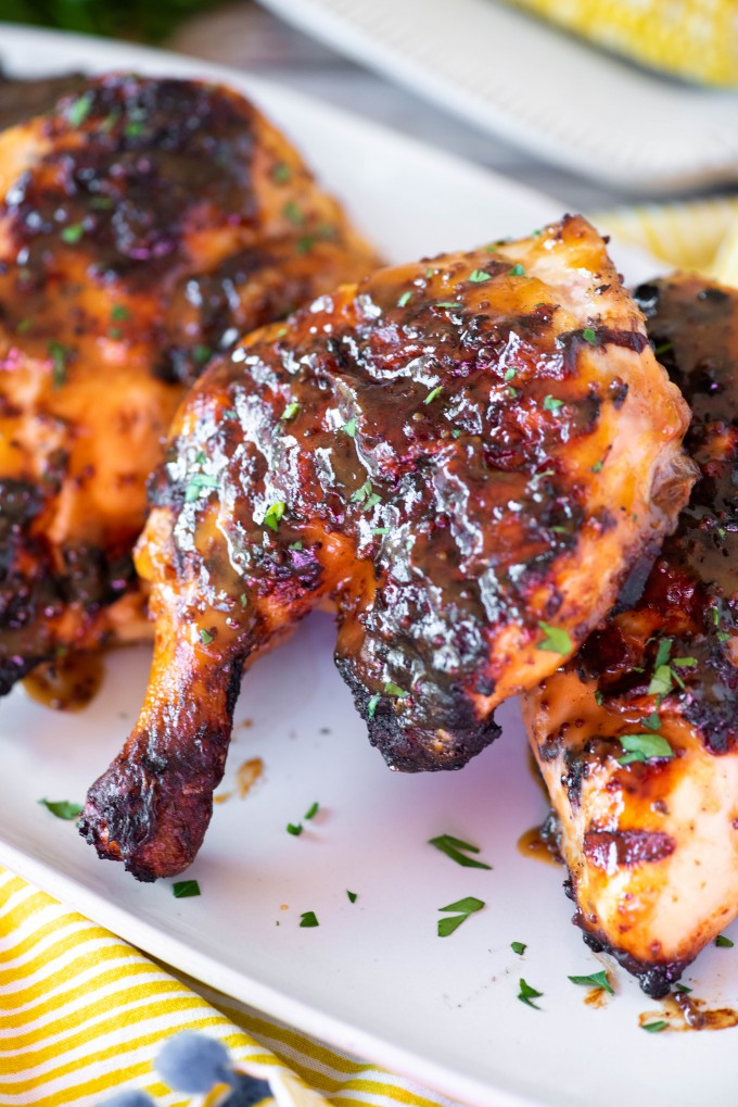 Easy Grilled Honey Mustard Chicken Recipe With Marinade