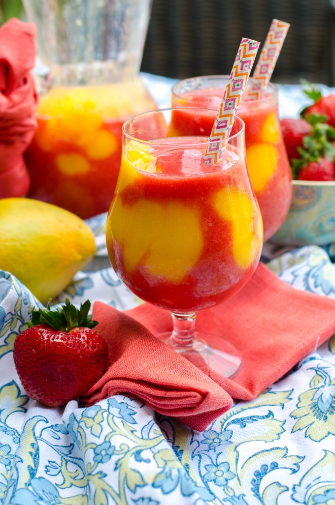 Mango Strawberry Daiquiri