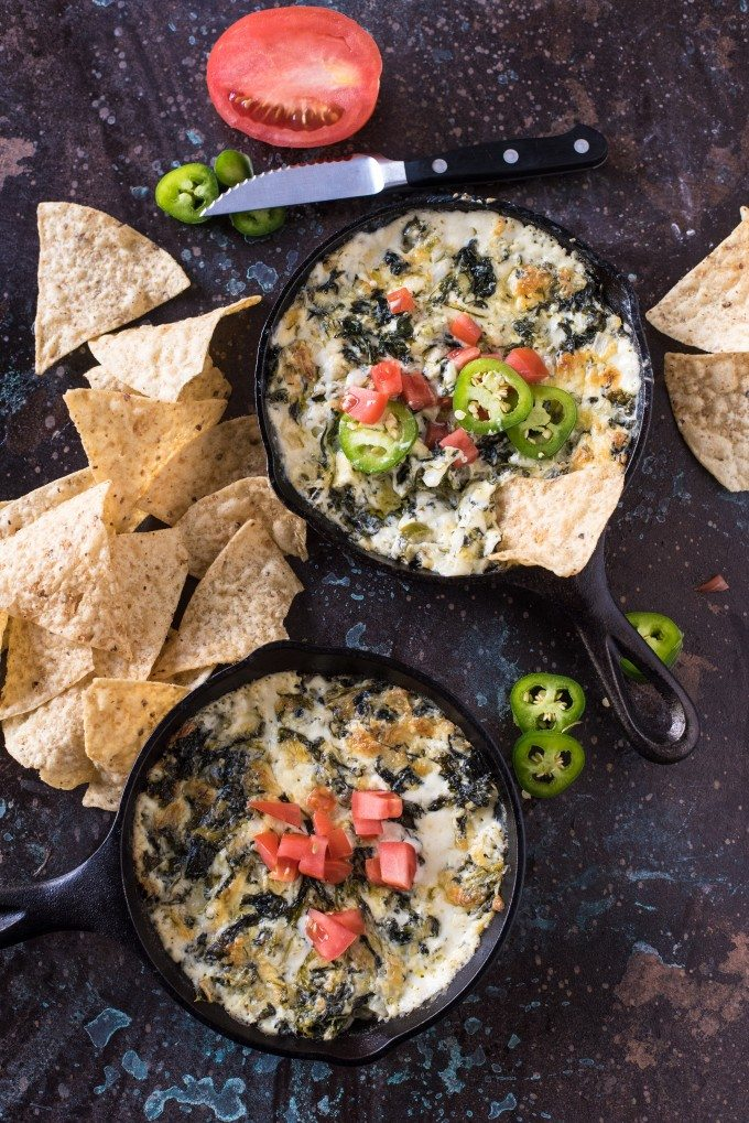 Spicy Jalapeno Spinach Cheese Dip