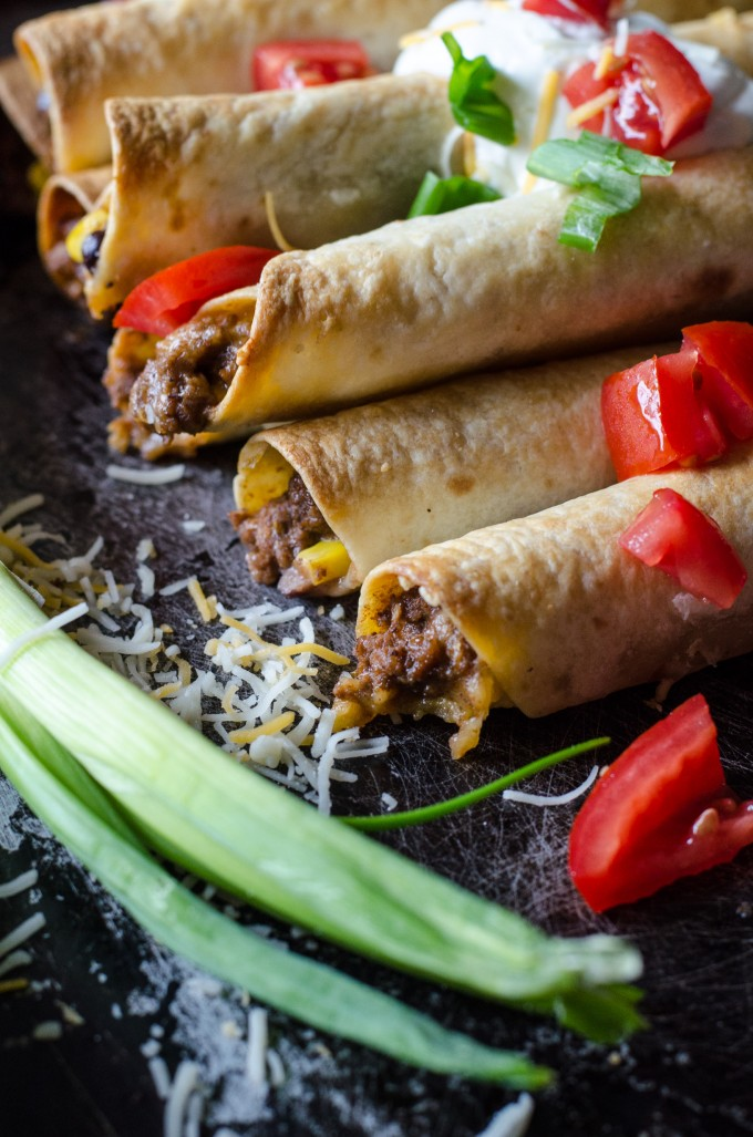 Easy Taco Taquitos
