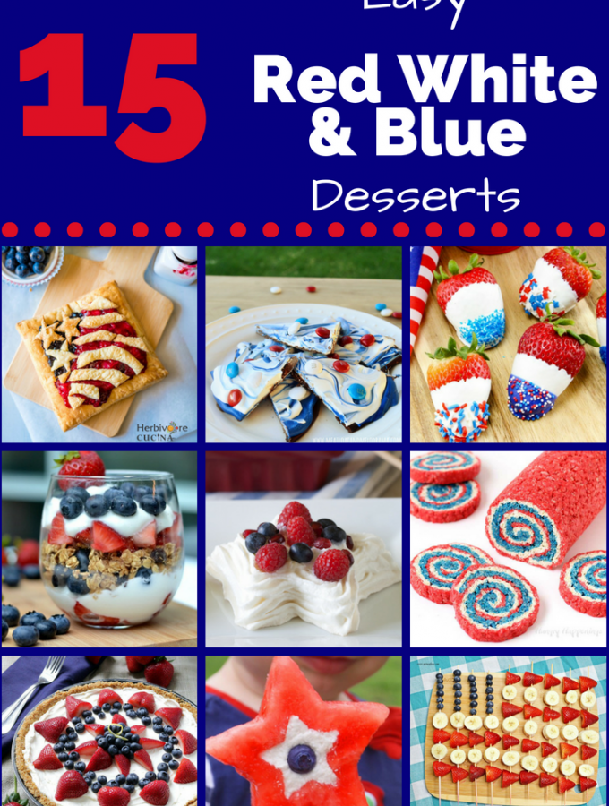15 Best Red, White and Blue Desserts