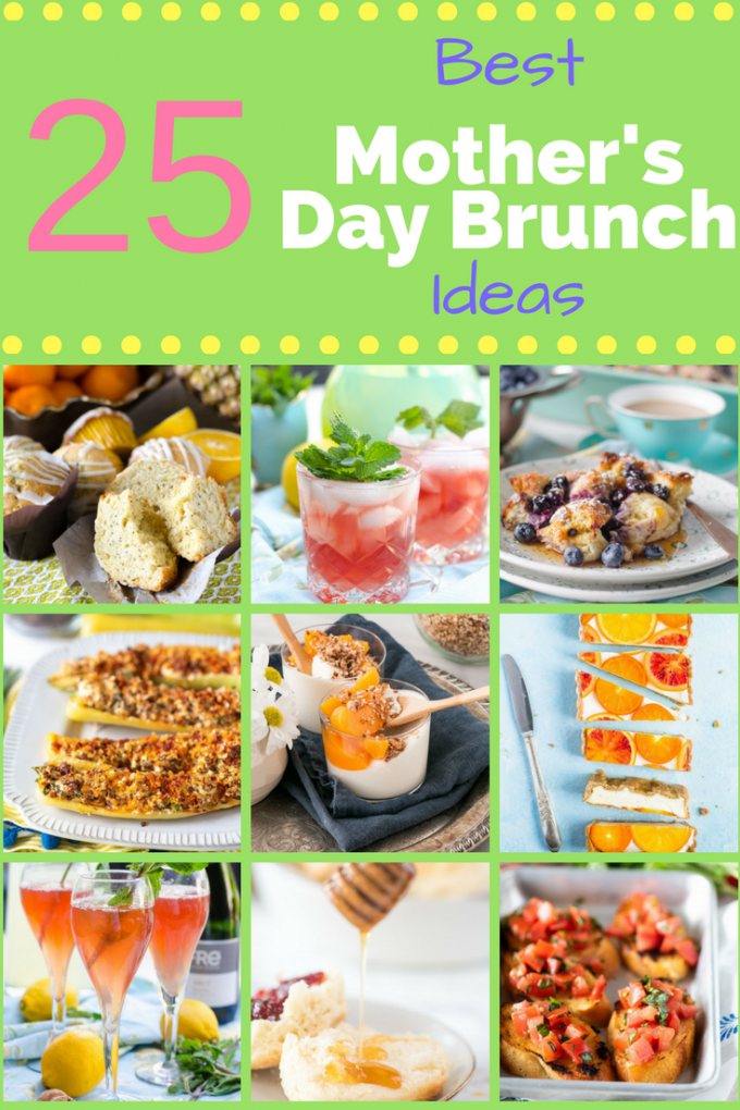 If you are trying to plan a brunch for Mother's Day, this list of the best easy Mother's Day brunch ideas is for you. From cocktails to casseroles, breakfast recipes to appetizers, you can find everything for your Mother's Day menu! #mothersdaybrunchideas #easybrunchrecipes #bestbrunchrecipes #gogogogourmet