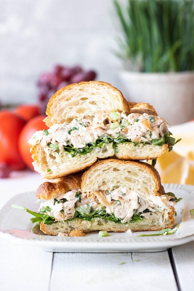 The Best Easy Rotisserie Chicken Salad Sandwich Recipe