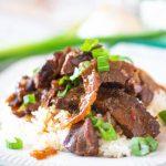 Crockpot Mongolian Beef recipe