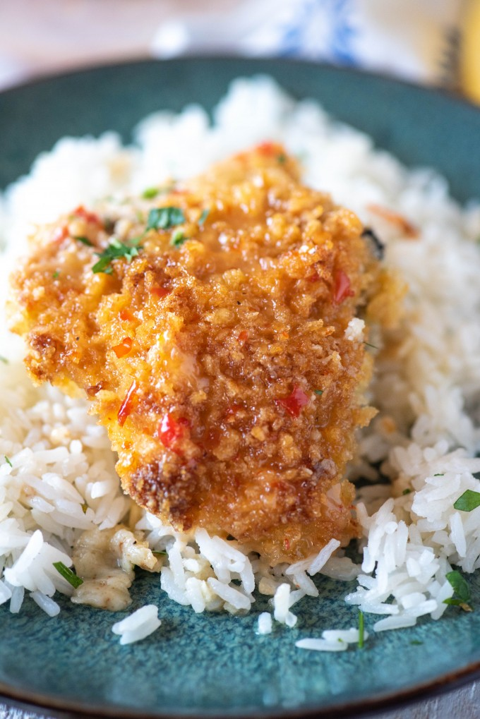 Bang Bang Chicken over Rice