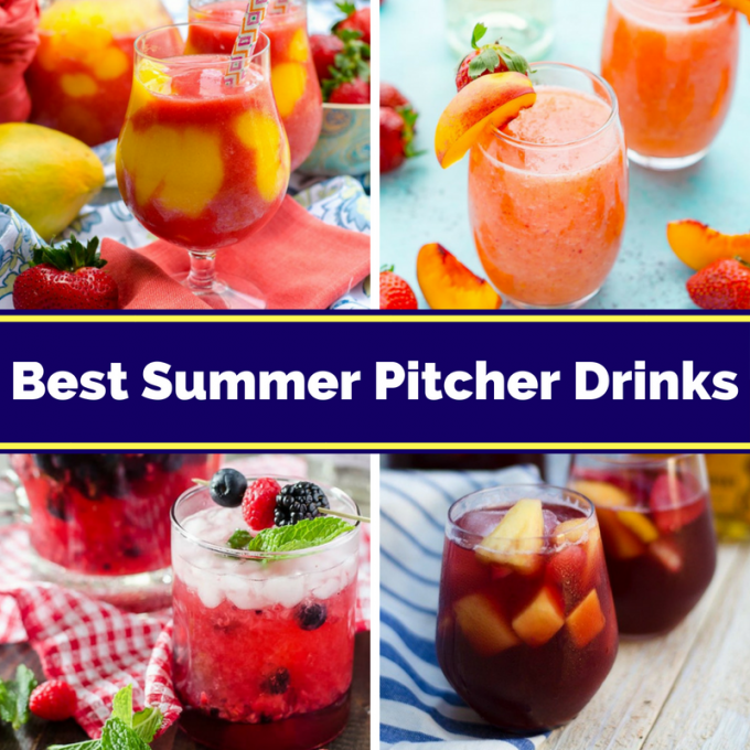 Refreshing Summer Pitcher Drinks And Cocktails For A Crowd
