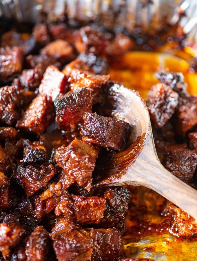 Pork Shoulder Burnt Ends