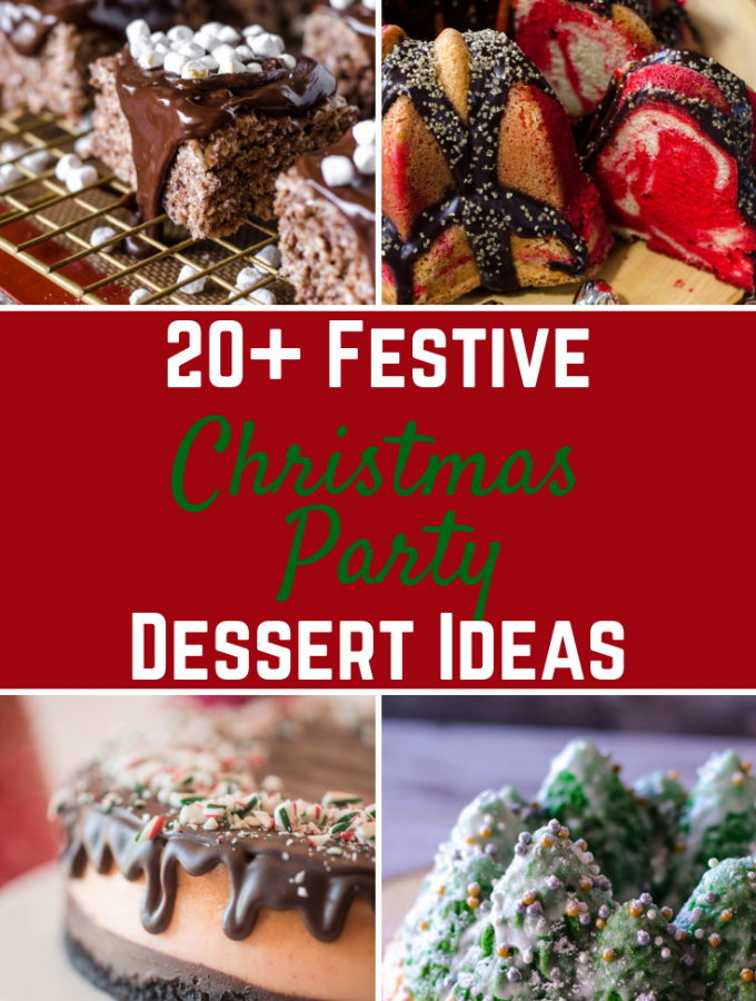 Easy Delicious Christmas Desserts