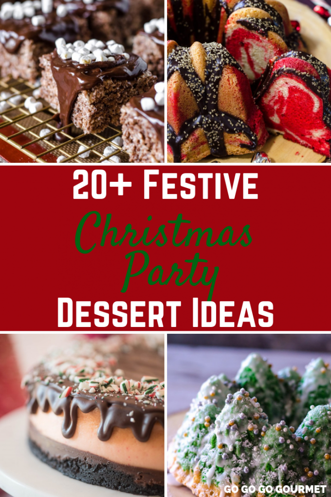 Christmas Deserts.20 Best Christmas Party Dessert Ideas