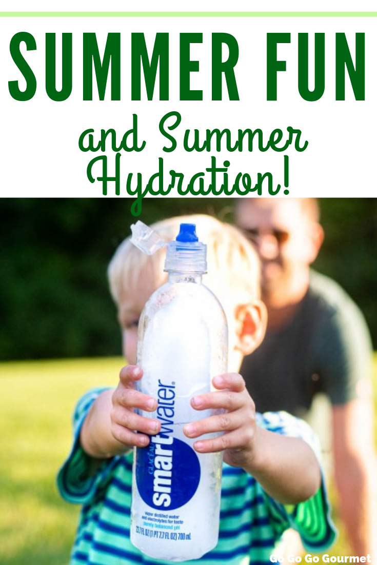 The kids are back in school and fall sports are in full swing. Don't forget to send a @smartwater bottle with them to keep them fully hydrated and ready for fun! #ad #gogogogourmet #smartwater via @gogogogourmet